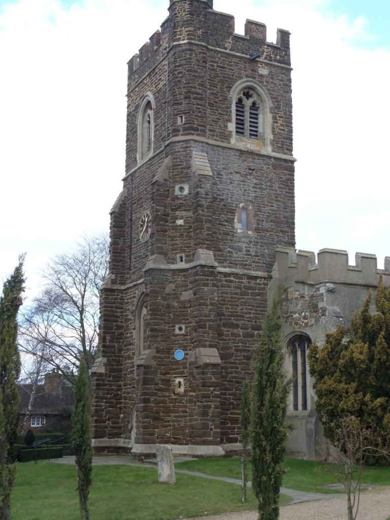 st-marys-harlington-blue-plaque