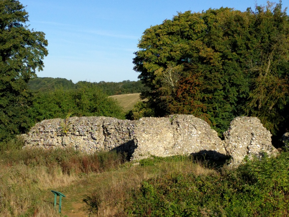 along-the-pilgrims-way-thurnham-castle